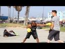 Бокс на пляже драка