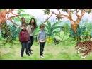 """Детская Академия Анастасии Бондарь. Английский язык для детей. Сказка """"КУРУПИРА лесные истории""""."""