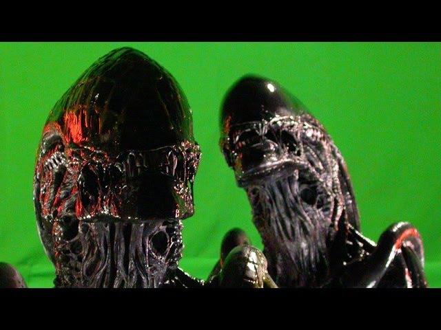 Making of Alien vs Predator AVP Alien Slice And Dice BTS