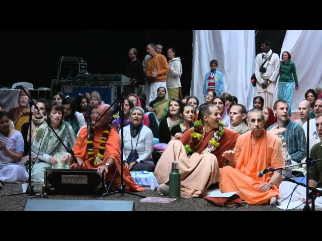 Kirtan Mela Nama Yagna with H.H.Indradyumna Swami 30.08.2011 in Feriendorf Hoher Hain - Germany