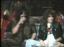 Motley Crue- Nikki Sixx Tommy Lee (Promoting Girls Girls Girls Album)