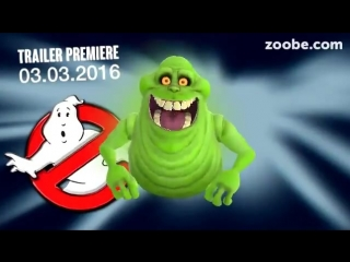 Slimer and The Ghostbusters movie trailer (Zoobie)