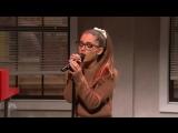 Ариана Гранде \ Ariana Grande пародирует голоса известных певиц( Britney Spears, Rihanna, Whitney Houston ) .SNL -  Impressions