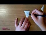 Ажурная снежинка из бумаги Paper Snowflake_Julia Miers