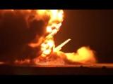 Взрыв российского стратегического бомбардировщика Ту-95 на базе Украинка