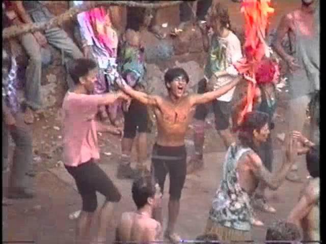 Goa Party 1992 - Maharashtra party at Redi Fort