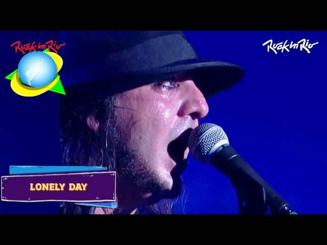 System Of A Down - Lonely Day LIVE【Rock In Rio 2015 | 60fpsᴴᴰ】