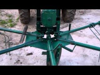 доработка роторных граблей на т 25