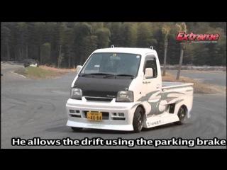のむけんが作る珍ドリは軽トラ!? vol.1 SUZUKI CARRY Kei Truck DRIFT 軽トラ野郎 スズキ キャリー