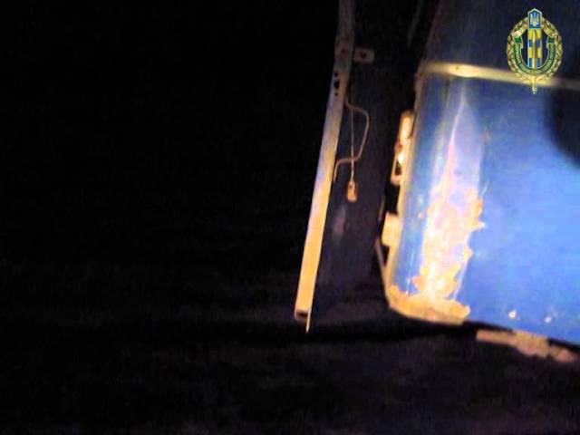 На українсько-російському кордоні прикордонники затримали УАЗ з вантажем м'ясної продукції