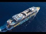 Самый большой круизный лайнер в мире Allure of the Seas в Испании, Малага