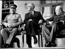 Речи Сталина. Тегеранская конференция 1943 г., У.Черчилль вручает Сталину меч Георга VI