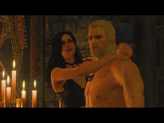The Witcher 3 Wild Hunt Yennefer Sex Scene / Romance Scene