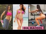 GIA MACOOL - Fitness Model & IFBB Bikini: Exercises for Butt, Legs and Abs @ USA