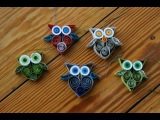 Quilling - Eule