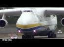 Antonov An-225 Mriya landing Gardermoen - World largest plane - HD