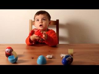 Яйца с сюрпризом из серии: Спайдер мэн, Тачки, Микки Маус, Супергерои.