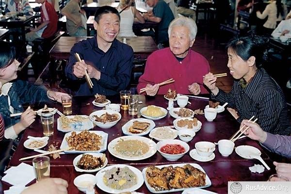 Культура китая, китайская кухня, Китай