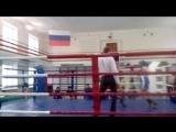 Первенство Пермского края по боксу.Мой 2-ой бой.