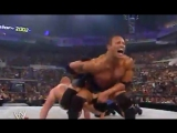 Brock Lesnar vs The Rock(c)WWE Championship - SummerSlam 2002