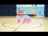 Happy team - 4 место. 7 детский фестиваль по фитнес-аэробике Облачко, г. Климовск 16.05.2015