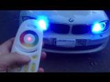 RGB Маркеры BMW H8 (Ангельские глазки на БМВ разных цветовых режимов). carlight.tiu.ru