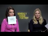 Интервью для «Bustle Cuts» в рамках промоушена фильма «Виски Танго Фокстрот»   20.02.16
