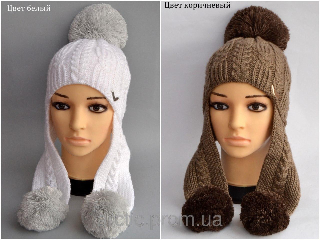 Как связать женские зимние шапки