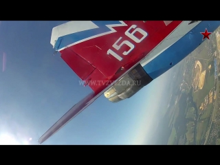 Rare video cockpit view russian air force mig-29 fighter aircraft