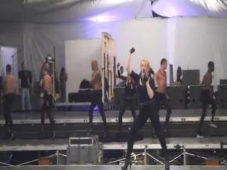 Mdna rehearsals - (ggw) ( 04-28-2012 )