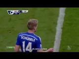 Манчестер Сити - Челси, Шюррле, Гол, 0-1