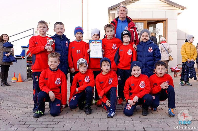 Турнир по футболу «Весенний Кубок Подольска-2015» в городе Подольске на стадионе «Планета» среди команд 2007 г.р. 15 марта 2015 года