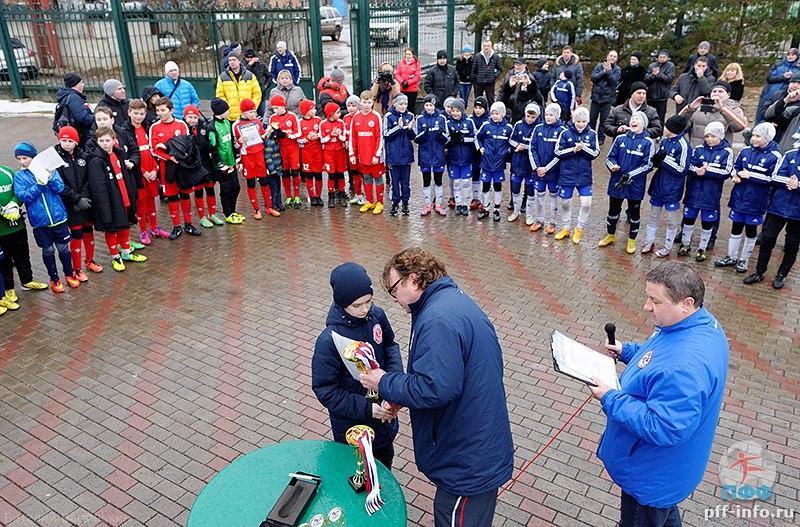 Турнир по футболу «Весенний Кубок Подольска-2015» в городе Подольске на стадионе «Планета» среди команд 2003 г.р. 8 марта 2015 года