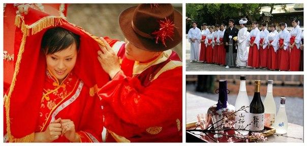 Китайская свадьба, Китай