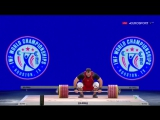 Aleksey Lovchev - Clean and Jerk 264 kg ! World record _ Алексей Ловчев - Толчок Мировой рекорд