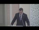 Депутат фракции ЛДПР Сергей Пивков с закинициативой по введению уголовной ответственности за надругательство над гимном РФ