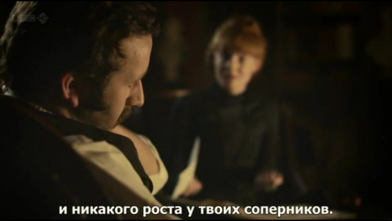 [rus sub] The Crimson Petal and the White|Багровый лепесток и белый – Episode 4 [720p]