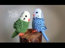 Tutorial Periquito Amigurumi Parakeet English subtitles