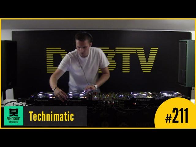DBTV Live 211 Shogun Audio Takeover - Technimatic
