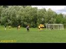 Four nice free kick Maxim Pegov (Energiya DK)