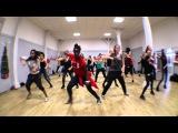 Audrey Carlita - RaggaDancehall Routine - Davido Skelewu - Ecole Savoye Rouen