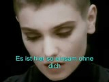 Sinead'O'Connor Nothing Compares to you Deutsch