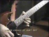 Carlos Cavazo of Quiet Riot Plays Amazing Guitar Solo