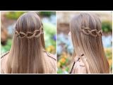 Коса на основе плетения