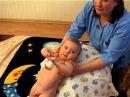 Детский массаж и развивающая гимнастика 6 9месяцев часть 5