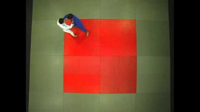 Judo - Okuri Ashi Harai lanzar barriendo y juntando los pies