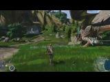 Дебютный геймплей Scalebound