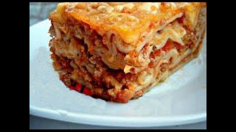 Pomysł na obiad - LASAGNE ( LAZANIA ) KLASYCZNA