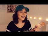 "Alyssa Bernal on Instagram: ""New video up on my channel covering #sorry by @justinbieber 😁🌊👍🏼#ukulele @koalohaukulele"""