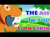 Story Time - The Ass In The Lion's Skin  Aesop's Fables  Story With A Moral